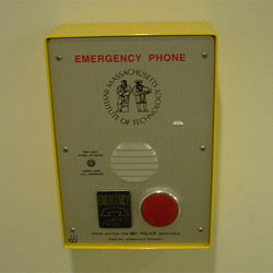 Campus emergency phone