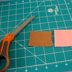 Scissors, cloth, and ruler
