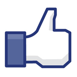 "Facebook ""Like"" thumbs-up"