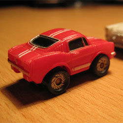 Micromachines toy car