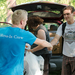 Move-in at Nazareth College
