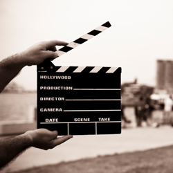 Movie slateboard