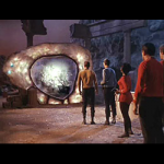 Time portal on Star Trek: The Original Series.