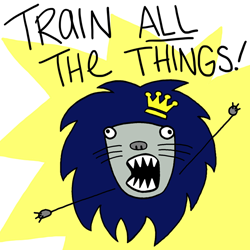Train All the Things meme